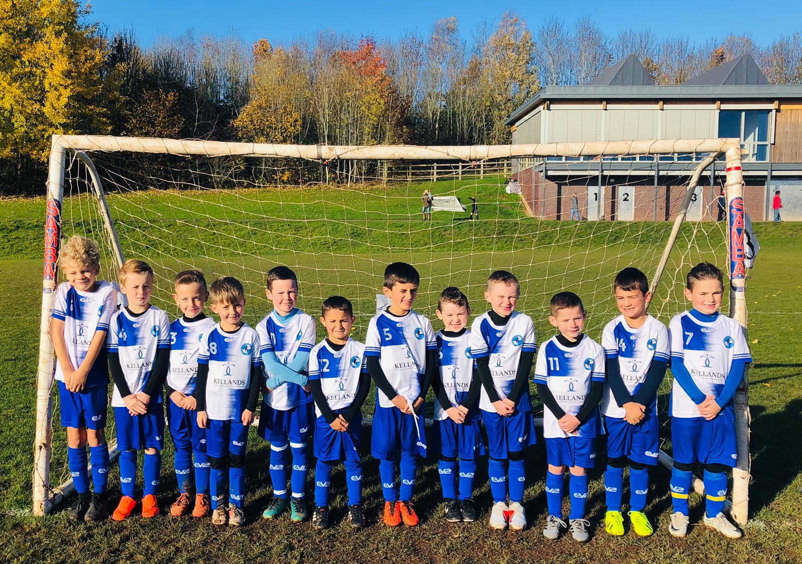 Kellands is delighted to sponsor Bristol Rovers Junior Supporters Club under 7s
